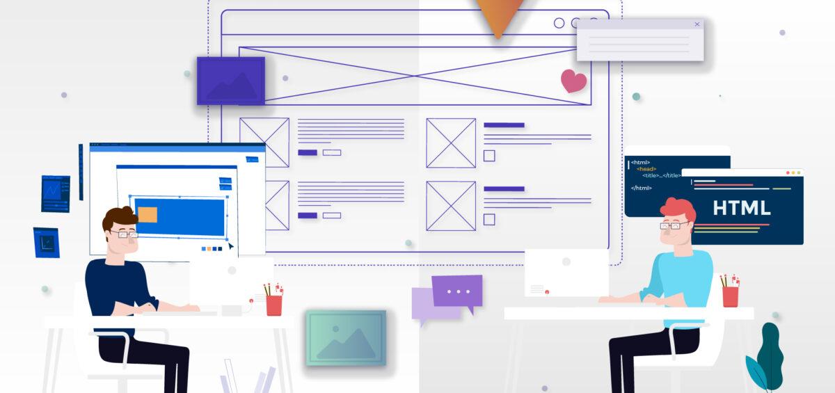 web developer and web designer